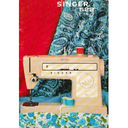 SINGER 522(K) Instruction Manual (Printed)