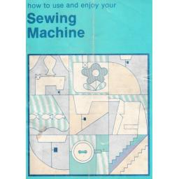 JONES BROTHER Model VX561 Sewing Machine  Instruction Manual (Printed)