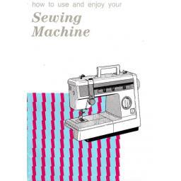 JONES BROTHER Model VX2080 & VX2083 Sewing Machine  Instruction Manual (Download)
