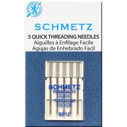 Schmetz Sewing Machine Needles Quick Threading size 90(14)