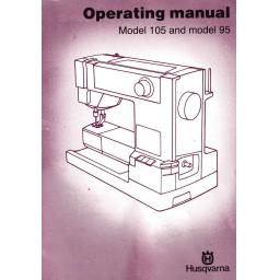 HUSQVARNA Classica 95 & 105 Instruction Manual (Download)