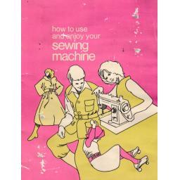 JONES  Model XL700 Sewing Machine  Instruction Manual (Printed)