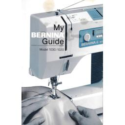 BERNINA 1030 & 1020 Instruction Manual (Printed)