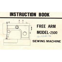RICCAR Model 2500 Instruction Manual (Printed)