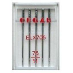 ORGAN Sewing Machine  Needles EL x 705 Coverstitch Size 75 (11)