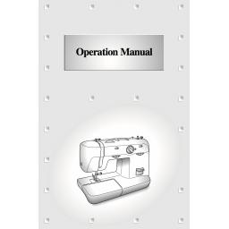BROTHER XL5556 & XL5700 Instruction Manual (Download)