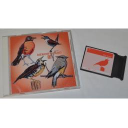JANOME Embroidery Design Card No. 31 - BIRDS