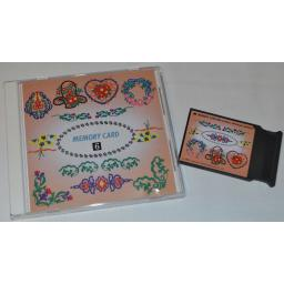 JANOME Embroidery Card No. 6 - FLORAL