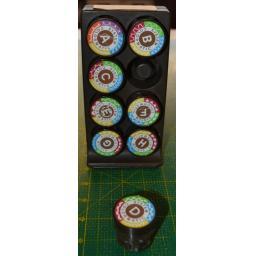 HUSQVARNA/VIKING Set of 8 Pattern Cams