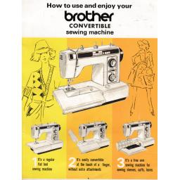 BROTHER XL3001 (Convertible) Instruction Manual (Printed)