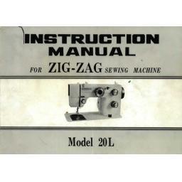 Necchi Sewline 20L Instruction Manual (Printed)