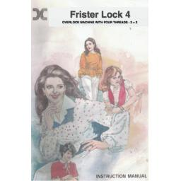 FRISTER + ROSSMANN Lock 4 Instruction Manual (Printed)