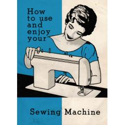 JONES BROTHER 1681 Zigzag Sewing Machine Instruction Manual (Printed)