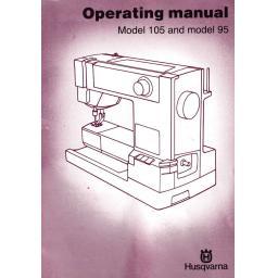 HUSQVARNA Classica 95 & 105 Instruction Manual (Printed)