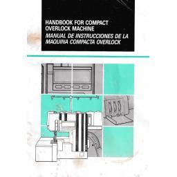 BROTHER  9800LD Overlocker (Serger) Instruction Manual (Download)
