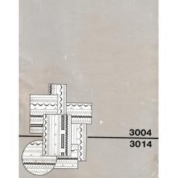 SINGER 3004 & 3014 (N) Instruction Manual (Printed)