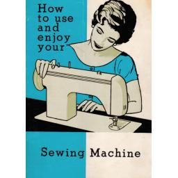 JONES Model 882 Sewing Machine  Instruction Manual (Printed)