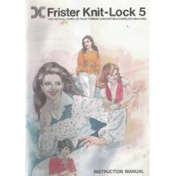 FRISTER + ROSSMANN Knit Lock 5 Instruction Manual (Printed)