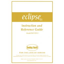BABYLOCK Eclipse DX Instruction Manual (Download)