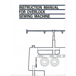 BROTHER  734DP & 834DP Overlocker (Serger) Instruction Manual (Download)
