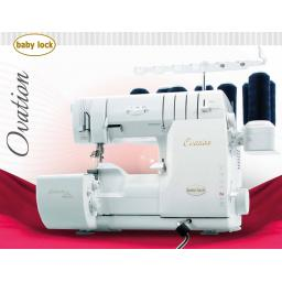 BABYLOCK OVATION Overlocker & Coverstitch Machine - Special offer Free Thread Set