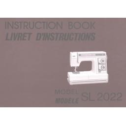 NEW HOME SL2022 Instruction Manual (Download)