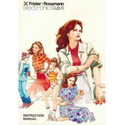 FRISTER + ROSSMANN Cub 8 Instruction Manual (Download)