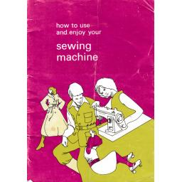 JONES or BROTHER Model VX560 Sewing Machine  Instruction Manual (Download)