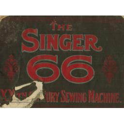 SINGER 66 The XXth Century Sewing Machine Publicity Book.