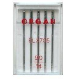 ORGAN Sewing Machine Needles EL x 705 Coverstitch Size 90 (14)