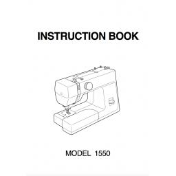 NEW HOME 1550 INSTRUCTION MANUAL (download)
