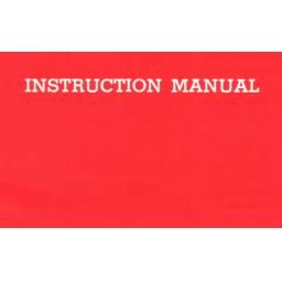 Unknown Brand (Model 200) Instruction Manual (Printed)