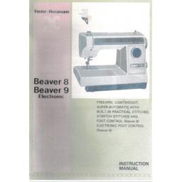 FRISTER + ROSSMANN Beaver 8 & 9 Instruction Manual (Download)