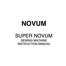 NOVUM Super Novum Instruction Manual (Download)