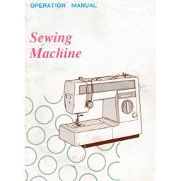 BROTHER VX1060, VX1080, VX1090, VX2010 & VX960 Sewing Machine Instruction Manual (Download)