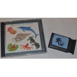 JANOME Embroidery Card No. 104 - OCEAN LIFE