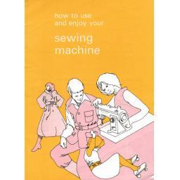 JONES BROTHER Model VX760, VX757 & VX770 Sewing Machine  Instruction Manual (Printed)