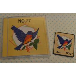 BROTHER Embroidery Design Card - No. 27 Birds (pre-owned)