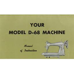 Jones D-68 Instruction Manual (Printed)