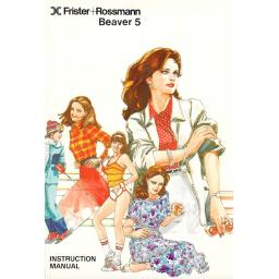 Frister + Rossmann Beaver 5 Instruction Manual (Printed)