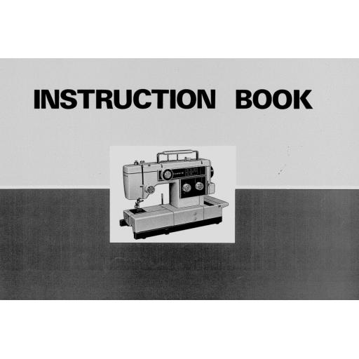 NEW HOME Combi & Combi 10 Instruction Manual (Printed)