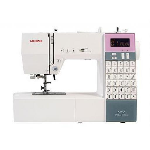 JANOME DKS30 Special Edition Computerised Free-arm Sewing Machine