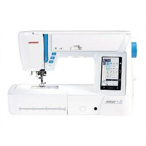JANOME Atelier 7 Computerised Free-arm Sewing Machine