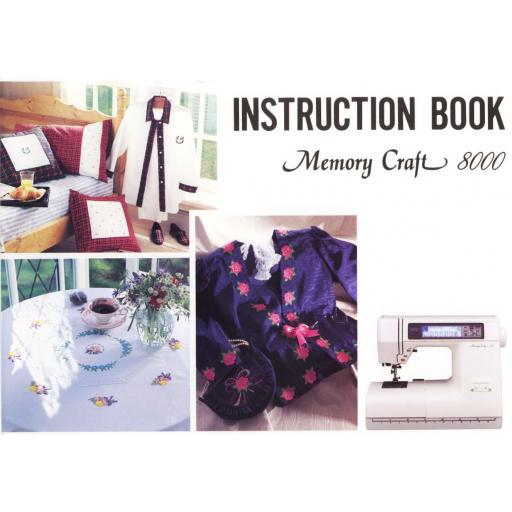 JANOME/NEW HOME MemoryCraft 8000 Instruction Manual (Download)