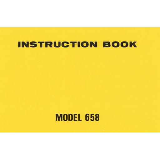 NEW HOME MyStyle 21 (680) Instruction Manual (Printed)