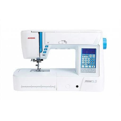 JANOME Atelier 5 Computerised Free-arm Sewing Machine