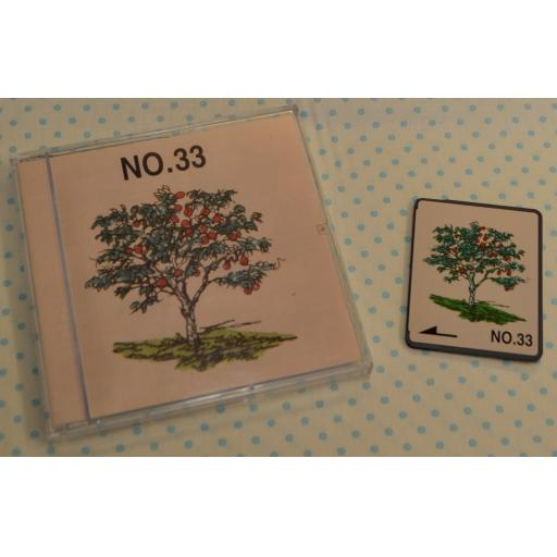 BROTHER Embroidery Design Card - No.33 Trees  (pre-owned)