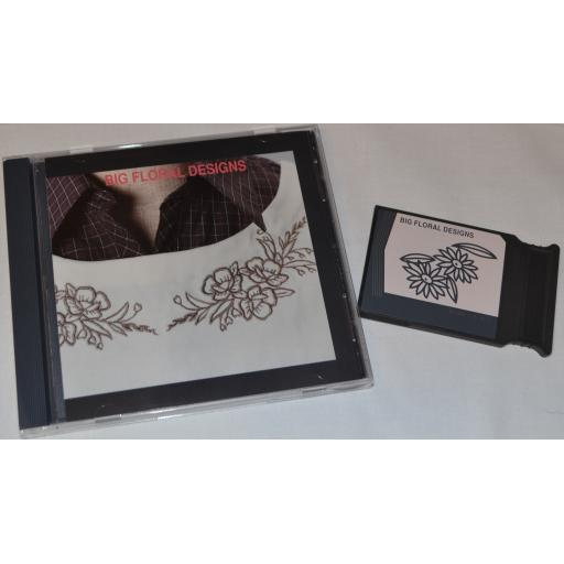 JANOME Embroidery card - BIG FLORAL