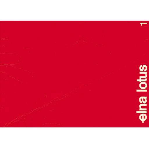 ELNA Lotus TSP Instruction Booklet (Printed)