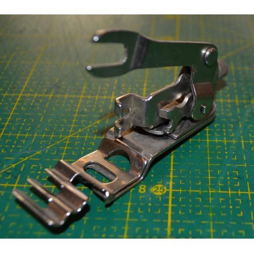 Zigzagger Attachment for a straight stitch machine